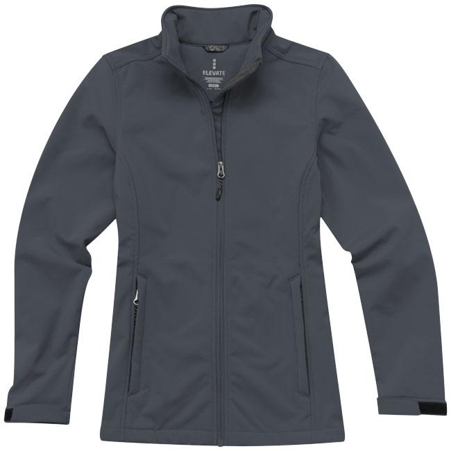 Veste personnalisable femme Maxson - veste softshell publicitaire personnalisée