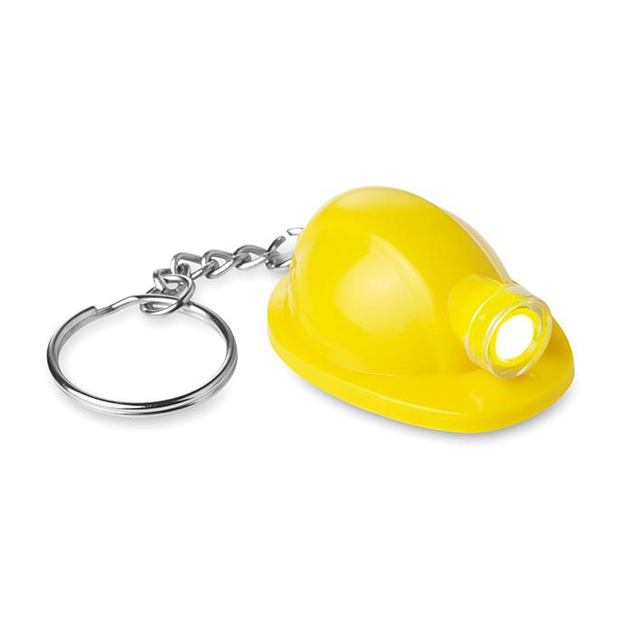 Porte-clés personnalisable casque Minero - goodies