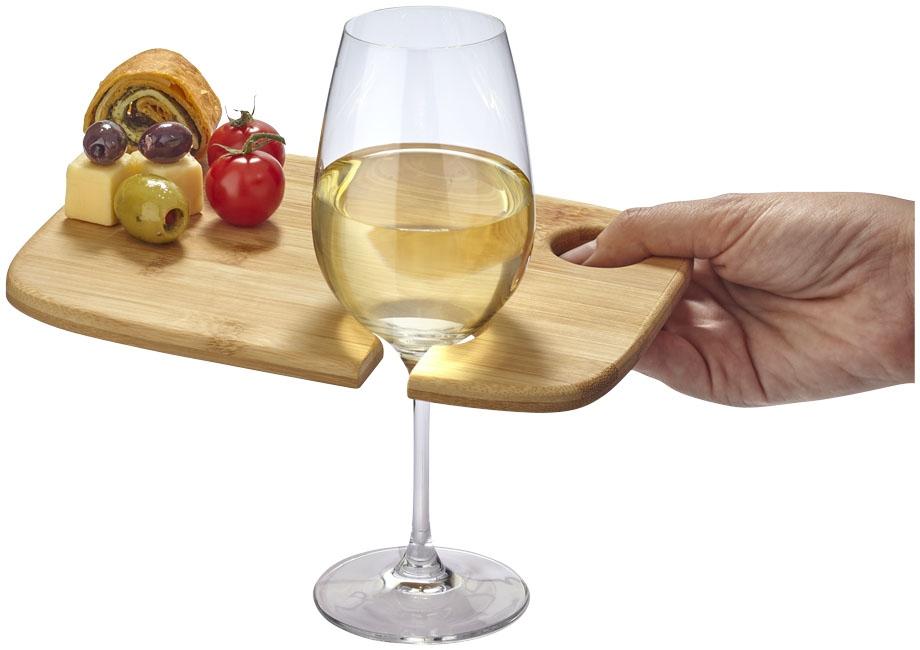 Plateau publicitaire vin et diner Miller - cadeau d'entreprise