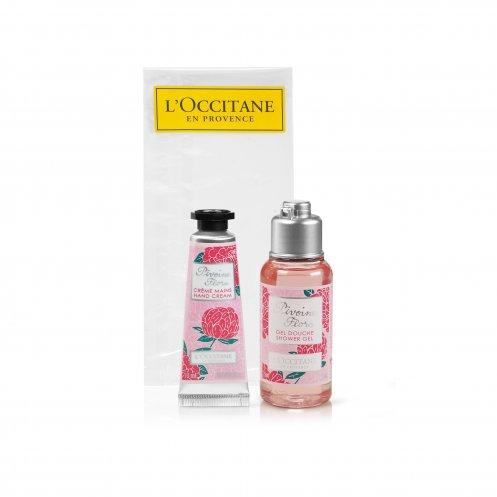 Mini coffret publicitaire Roses et Reines de L'Occitane en Provence - cadeau d'entreprise