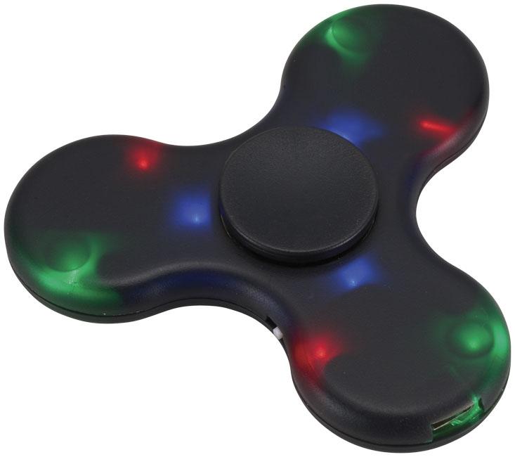 Toupie anti-stress publicitaire avec enceinte Bluetooth® NoPanic - hand spinner publicitaire