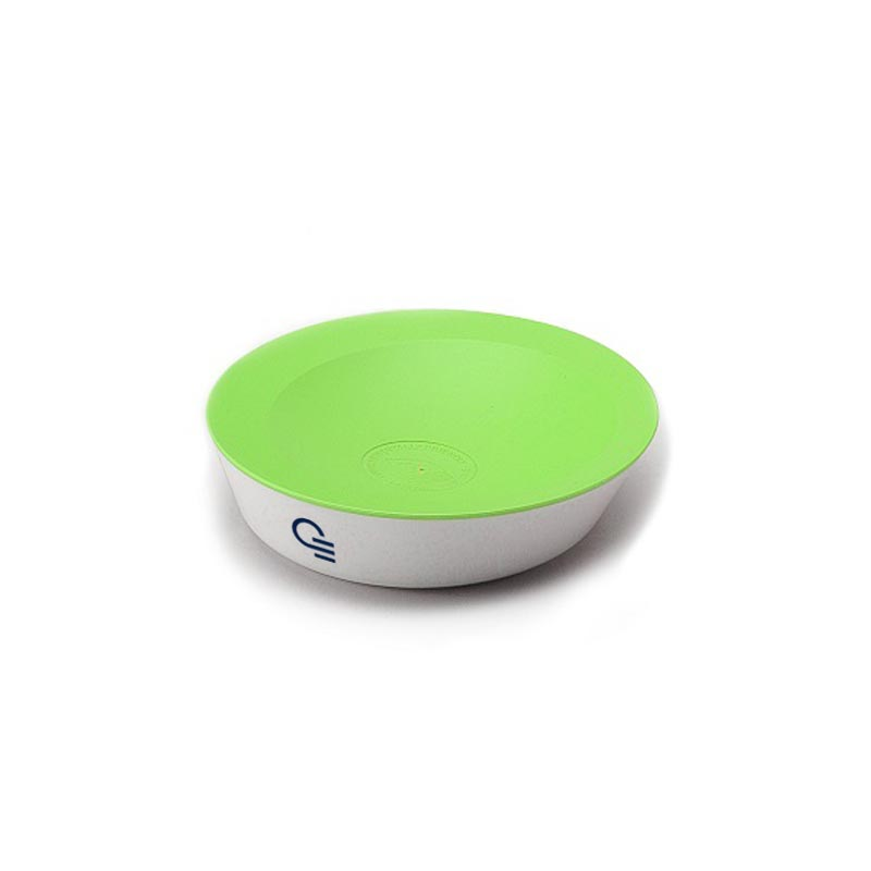 Pot à trombones publicitaire écologique MiniPop bleu - cadeau publicitaire écologique