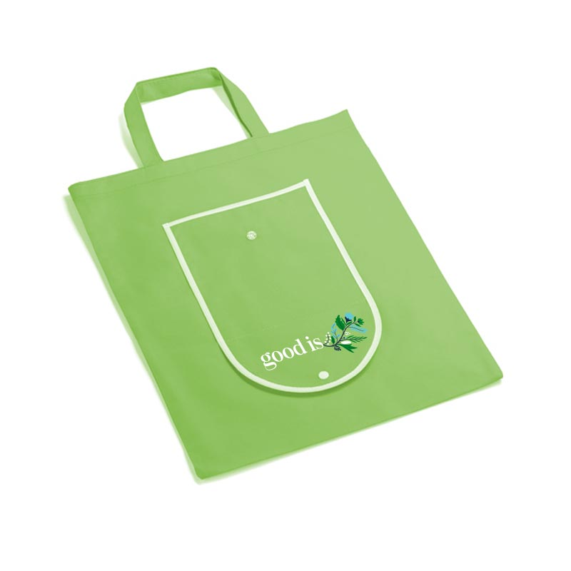 Sac shopping promotionnel pliable Wallet