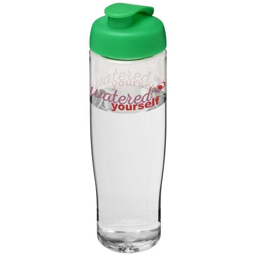 Bouteille de sport publicitaire H2O Tempo® 700 ml avec couvercle à clapet