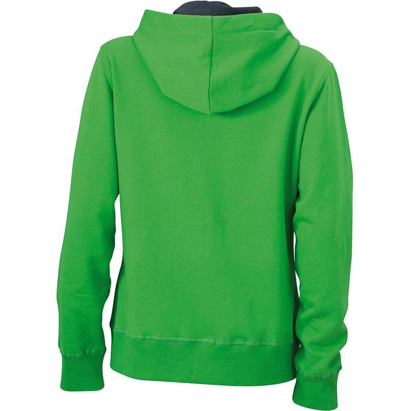 Cadeau publicitaire - Sweat-shirt personnalisé à capuche Femme Jess