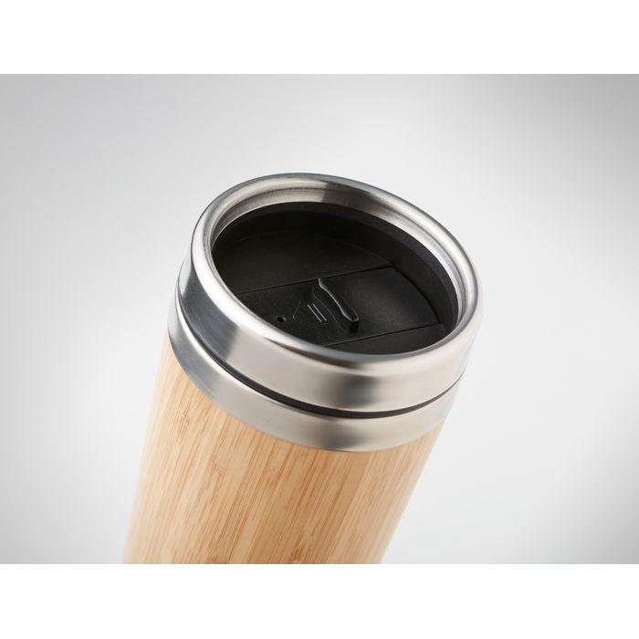 Gobelet de voyage publicitaire Rodeo - mug en bambou personnalisable