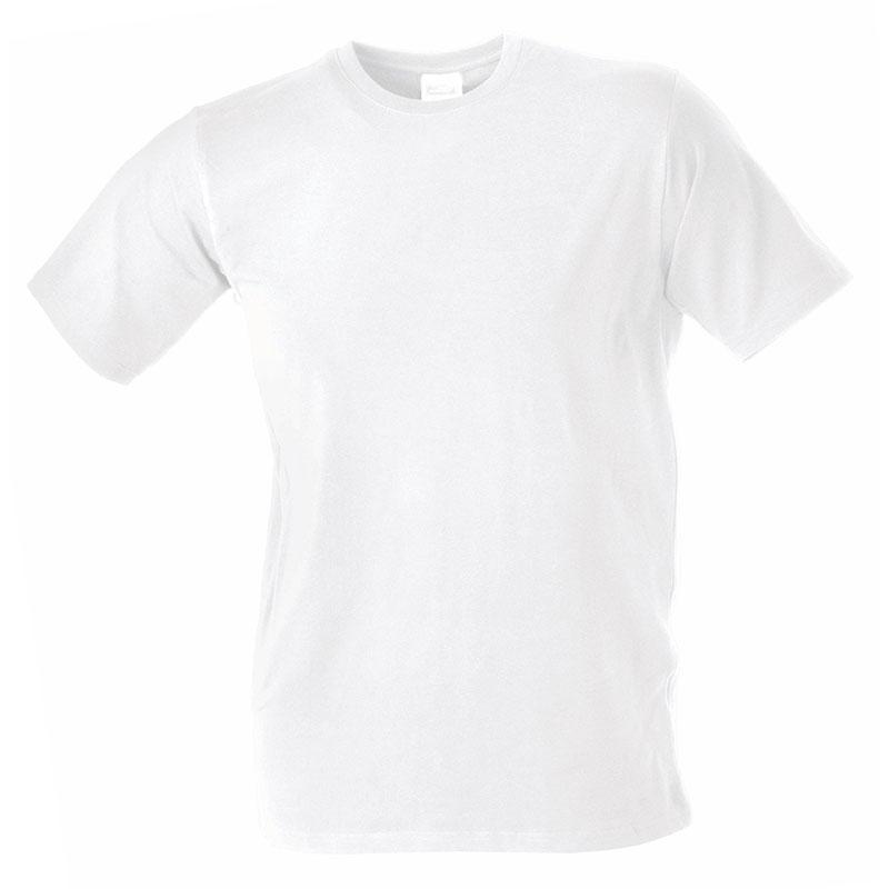 Tee-shirt publicitaire stretch pour homme Beaulieu blanc - t-shirt personnalisable