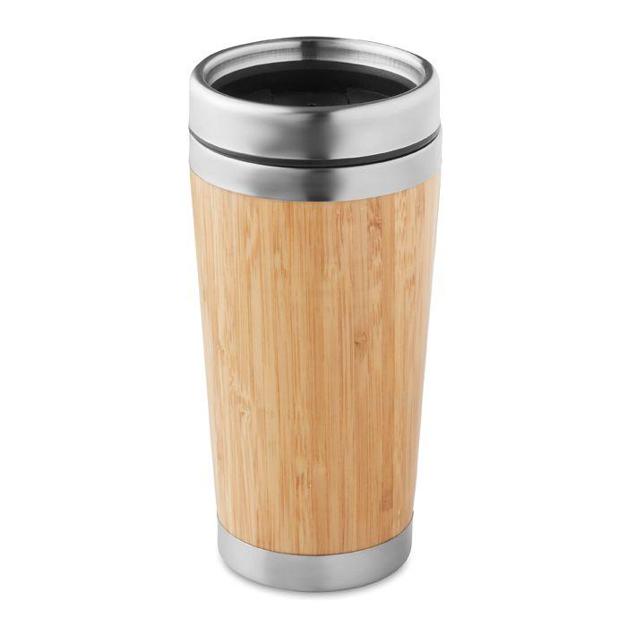 Gobelet de voyage publicitaire Rodeo - mug en bambou à personnaliser