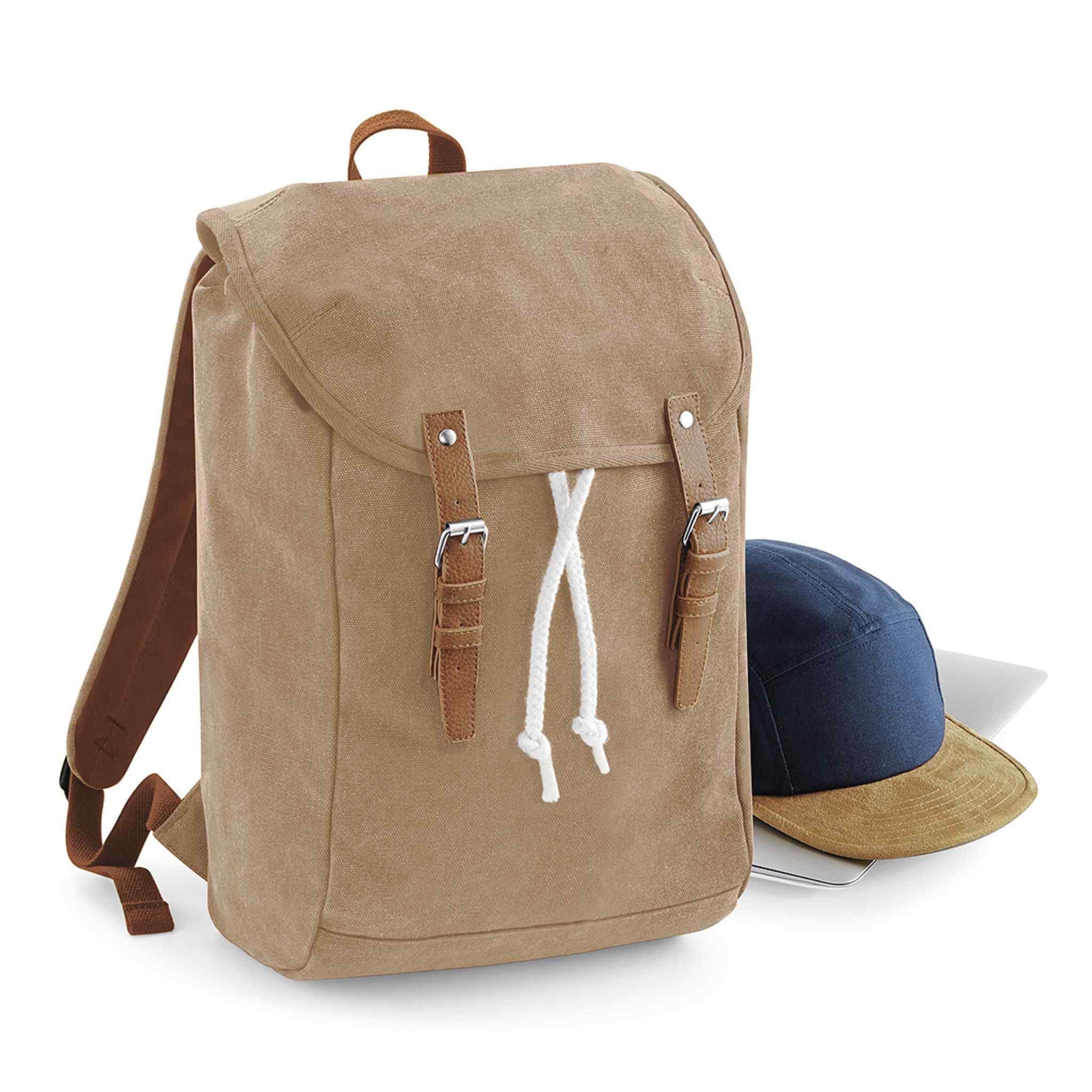 Sac à dos publicitaire Rucksack Vintage - sac à dos personnalisable