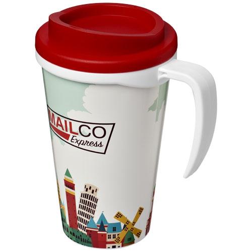 Cadeau d'entreprise - Mug isotherme publicitaire Brite-Americano® grande 350 ml