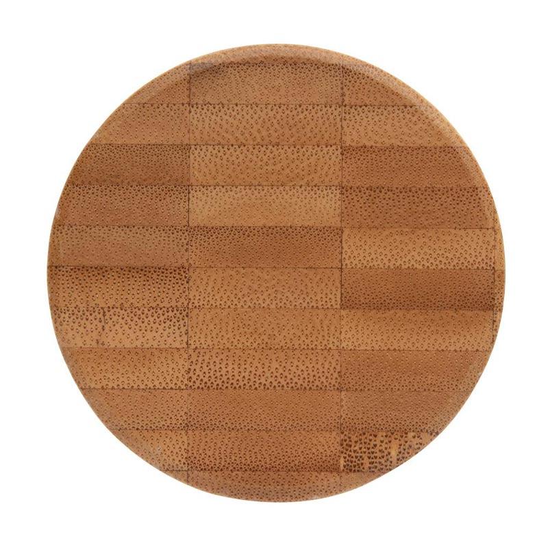 vue du bouchon en bambou