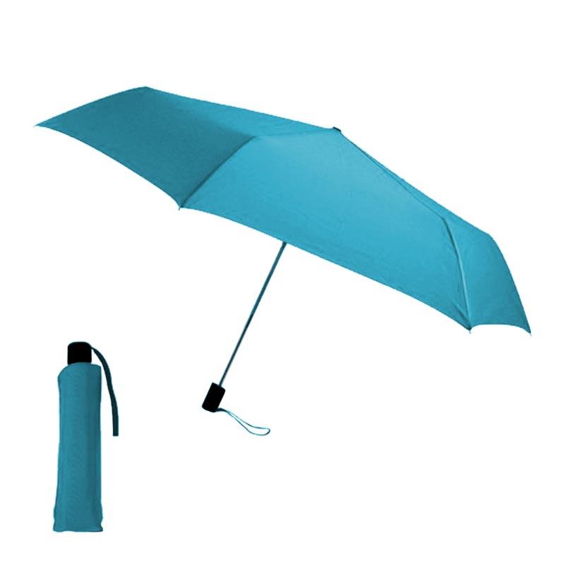 parapluie publicitaire écologique -  bleu