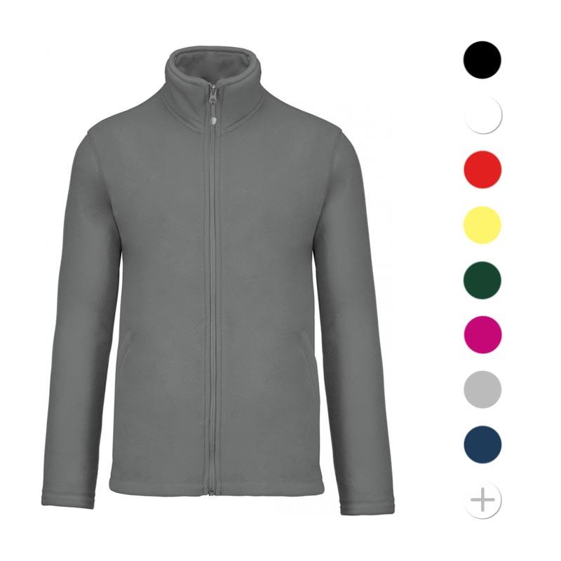 veste polaire publicitaire zippée Falco - textile promotionnel