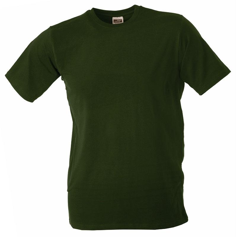 Tee-shirt promotionnel stretch pour homme Beaulieu vert - t-shirt publicitaire