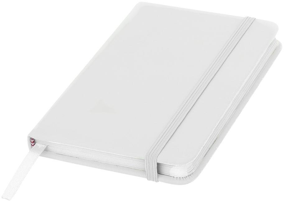 Carnet de notes personnalisé A5 Spectrum avec pages blanches - bloc-notes publicitaire