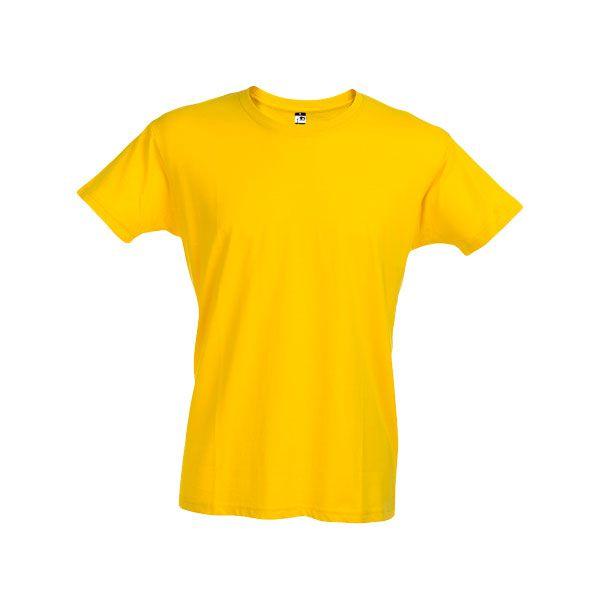 T-shirt personnalisé pour homme Ankara jaune
