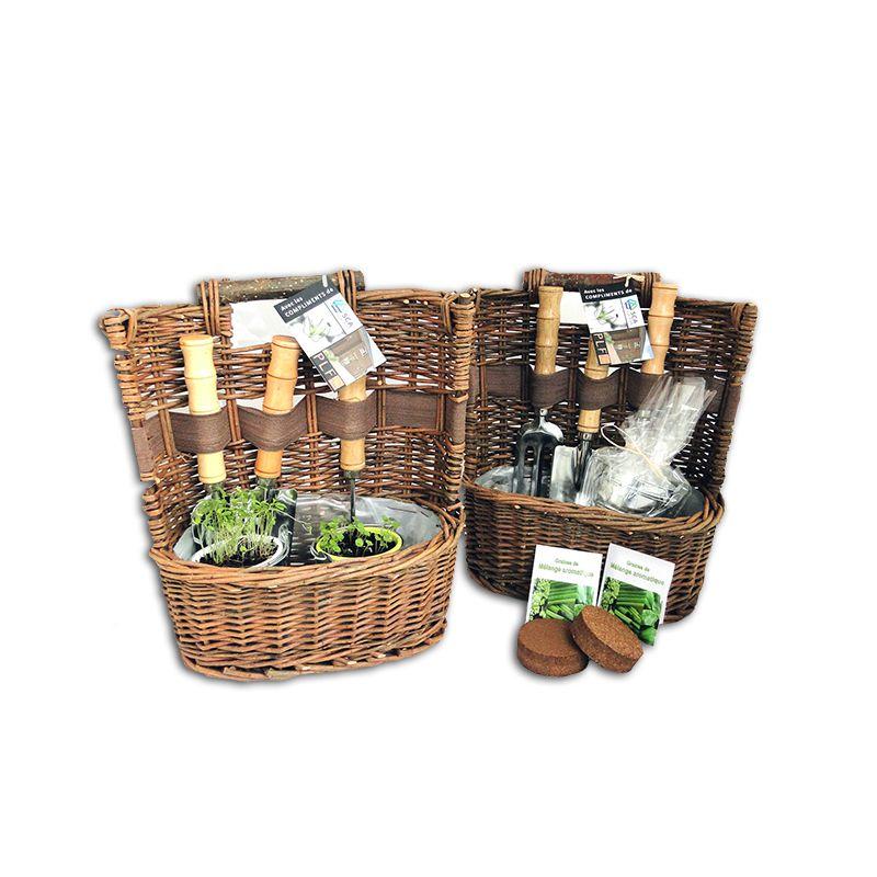 Kit de plantation publicitaire Xena - Cadeau d'entreprise écologique