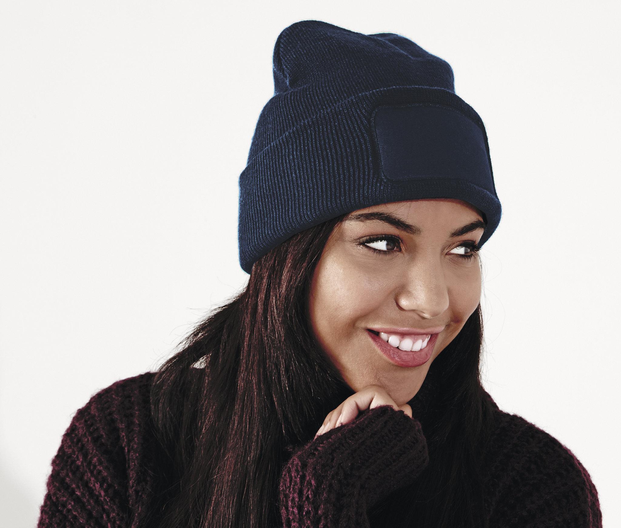 Bonnet publicitaire Beanie - bonnet personnalisable navy
