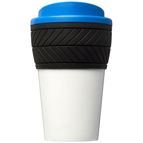 Gobelet isotherme publicitaire Brite-Americano® pneu 350 ml - Mug personnalisable Americano