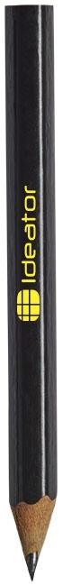 Crayon à papier publicitaire avec corps de couleur Par noir