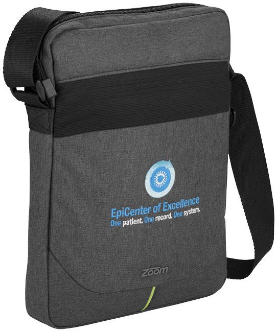Sacoche publicitaire pour tablette Power Stretch - Cadeau d'entreprise high-tech