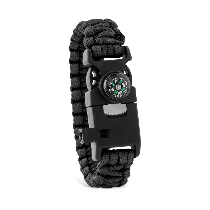 Goodies entreprise - bracelet de survie publicitaire Survival