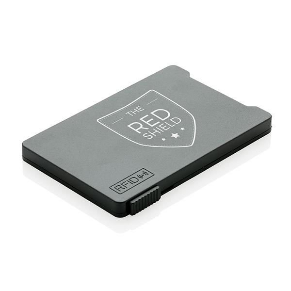 Porte-cartes publicitaire anti-RFID Rassure - Goodies