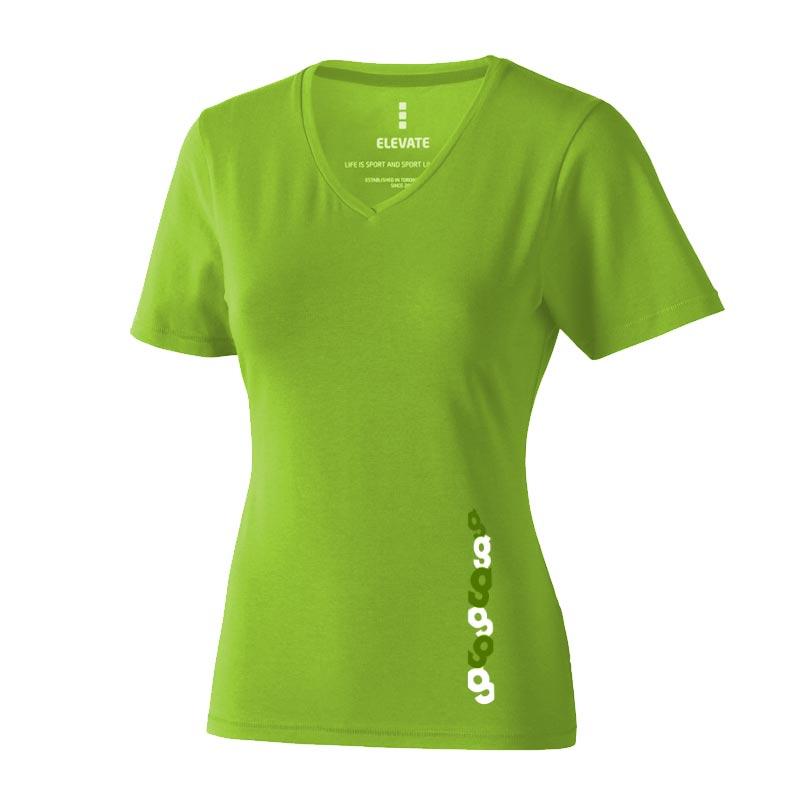 T-shirt bio personnalisé manches courtes pour femmes Kawartha