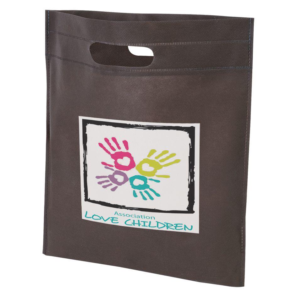 Sac shopping personnalisable Fame - sac shopping promotionnel rose