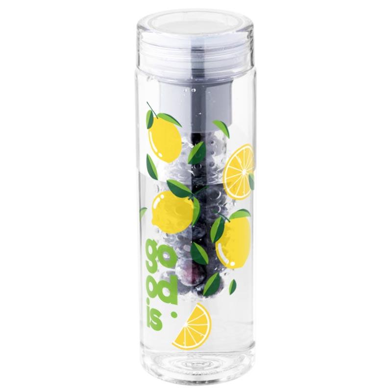 Bouteille à infusion publicitaire fruiton - bouteille personnalisable en tritan