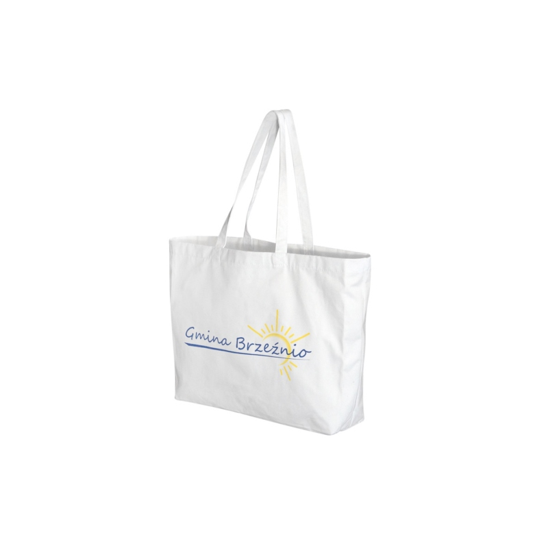 Sac shopping publicitaire en coton Angel - Tote bag publicitaire