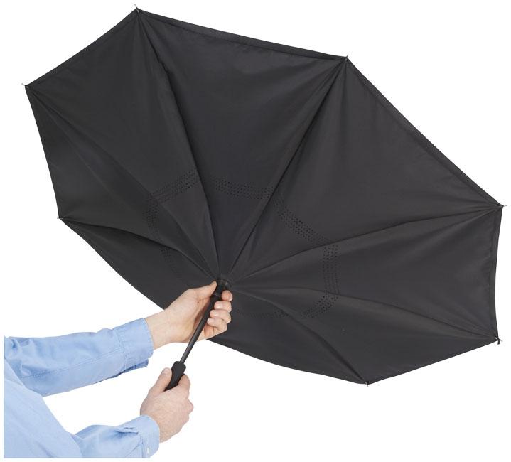 """Parapluie publicitaire réversible 23"""" Lima - cadeau personnalisable"""