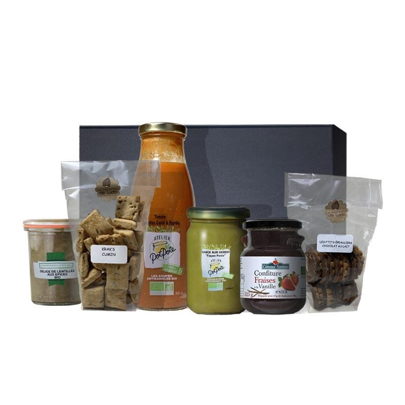 Panier garni bio 6 spécialités végétariennes