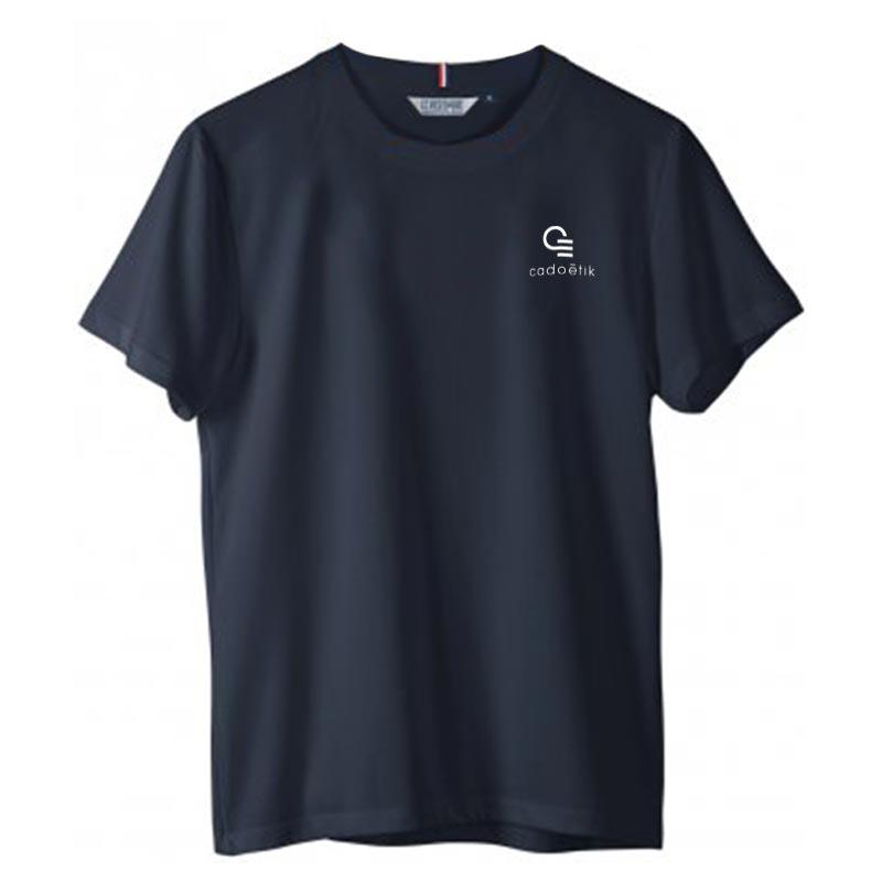 Tee-shirt publicitaire en coton bio made in France