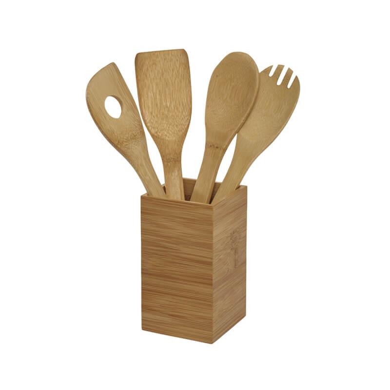Ustensiles de cuisine en bambou Timber pour marquage logo