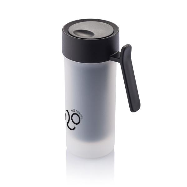 Mug publicitaire Pop noir - mug personnalisable