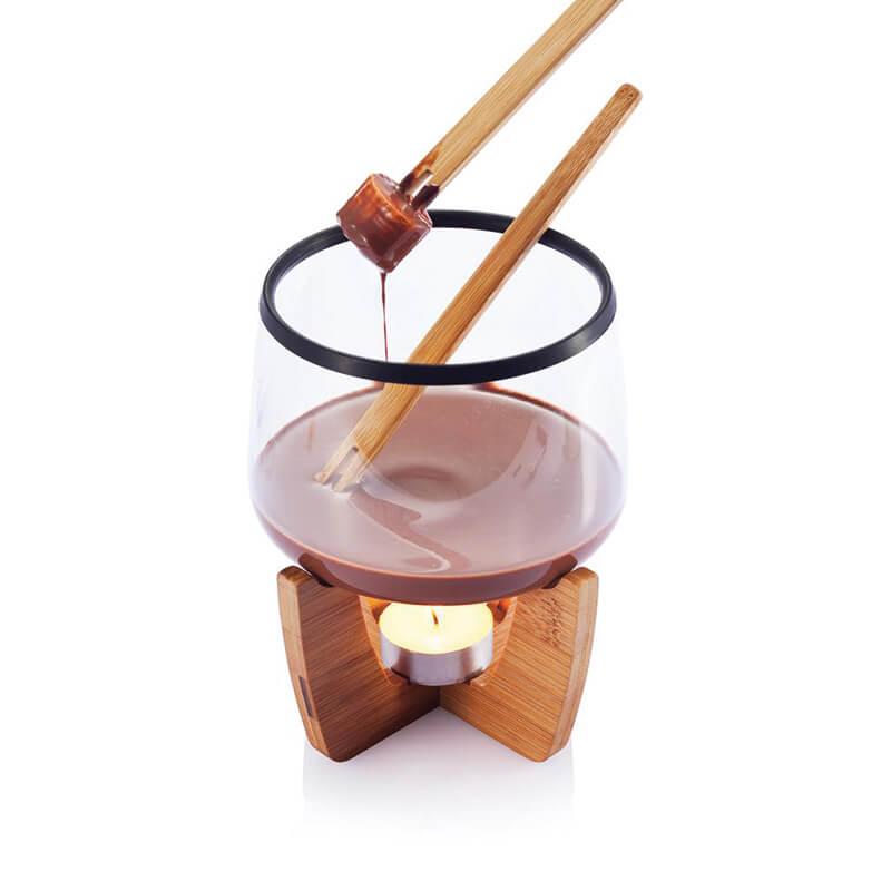 Goodies de Noël - Set de fondue au chocolat Cocoa
