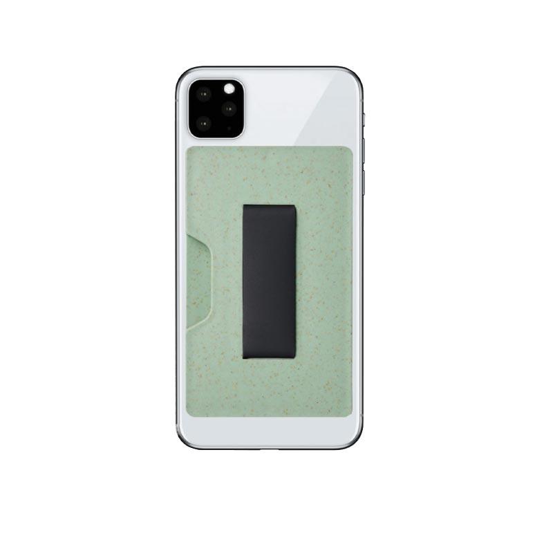 Porte-carte RFID en bioplastique Grass