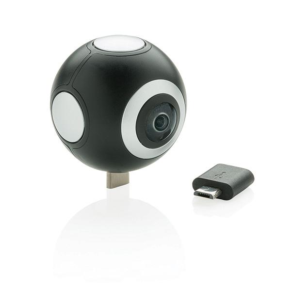 Cadeau d'entreprise - Caméra 360 à double lentilles R2
