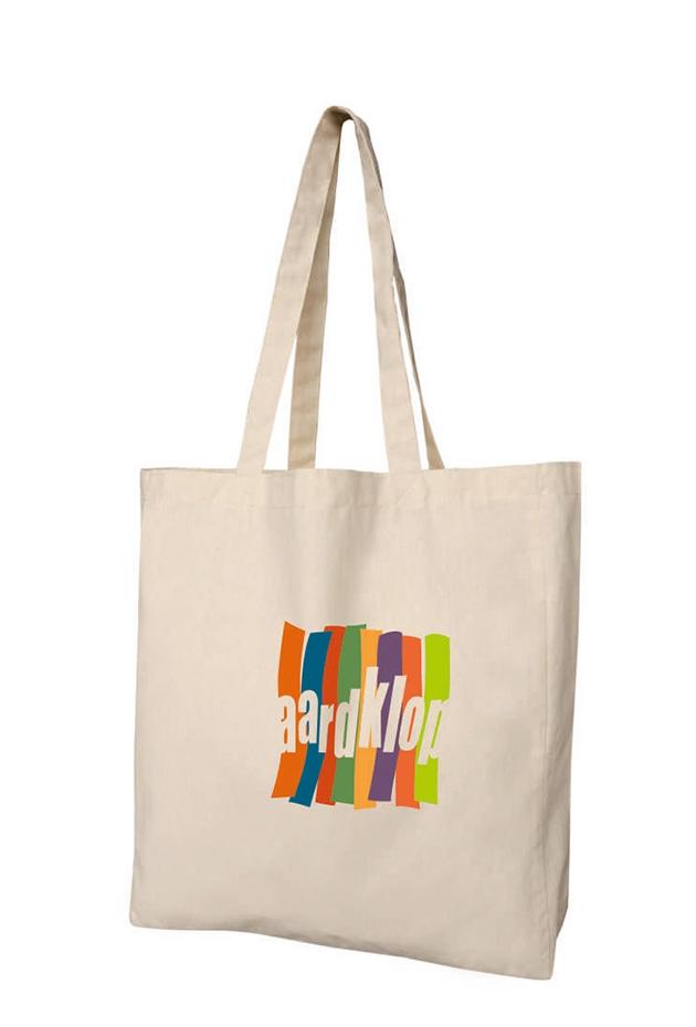 Sac shopping publicitaire en coton écru Bombay - cadeau publicitaire