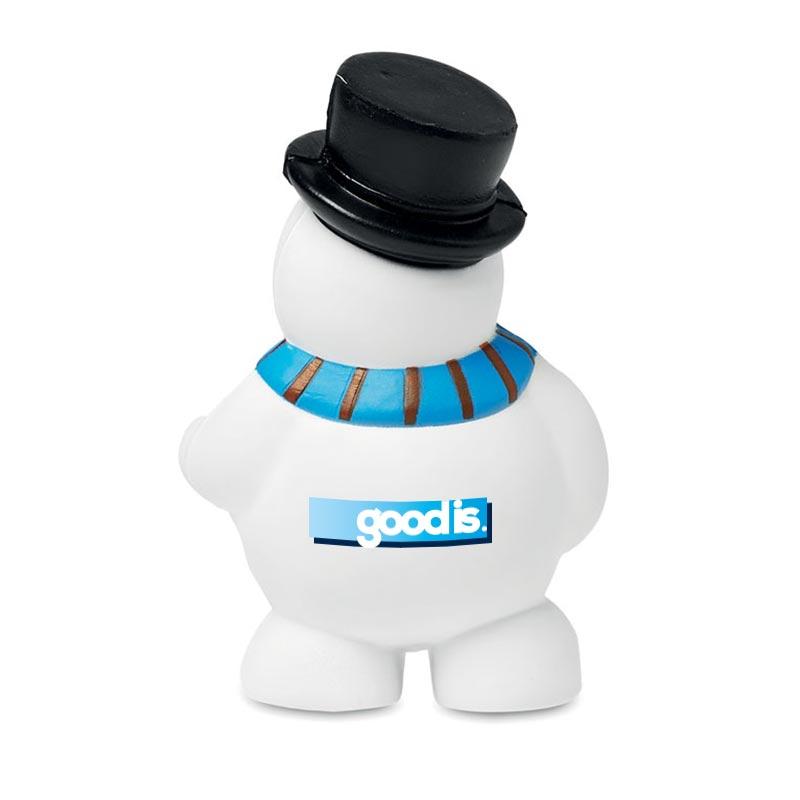Balle anti stress bonhomme de neige Penny