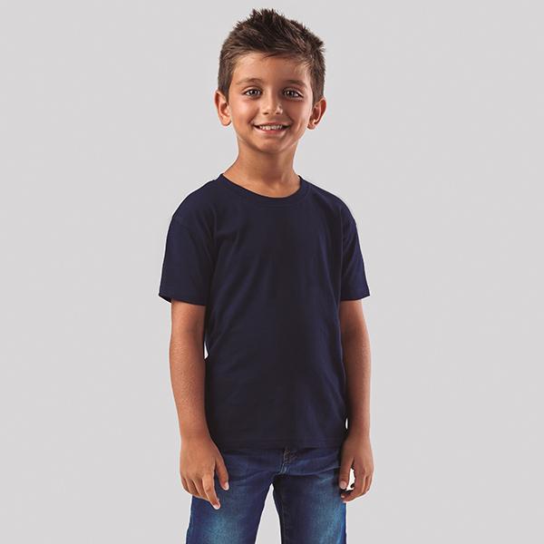 T-shirt personnalisable unisexe pour enfant Quito couleur - textile publicitaire