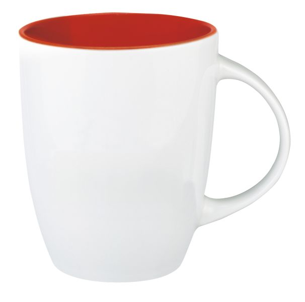 Mug promotionnel Senator® Elide inside orange
