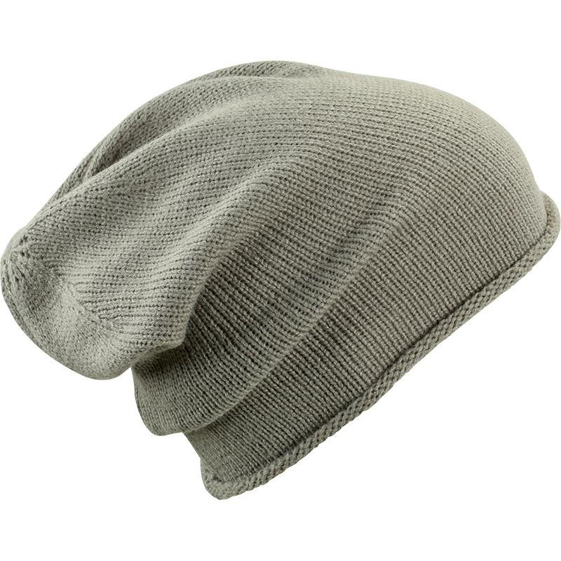 Bonnet publicitaire roll-up, tricot à l'endroit