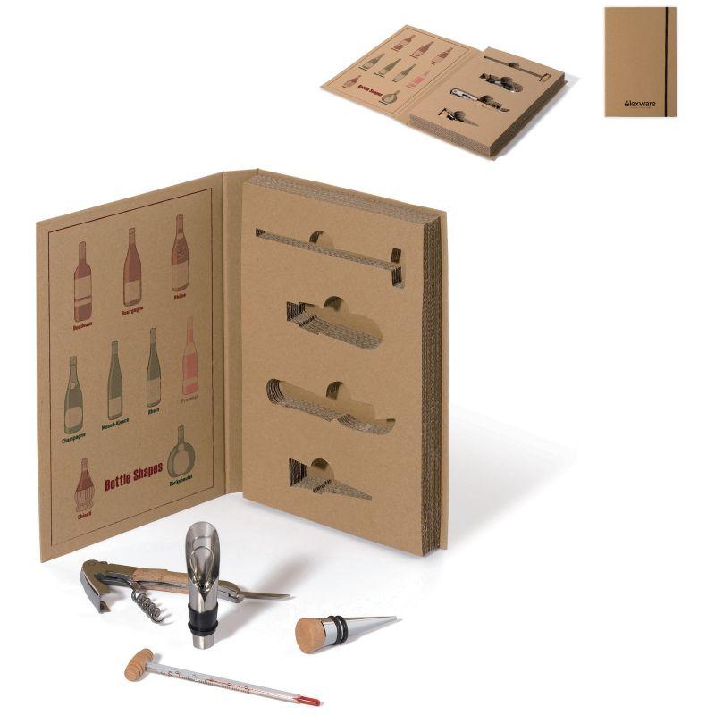 cadeau publicitaire sommelier - Set à vin publicitaire Vino