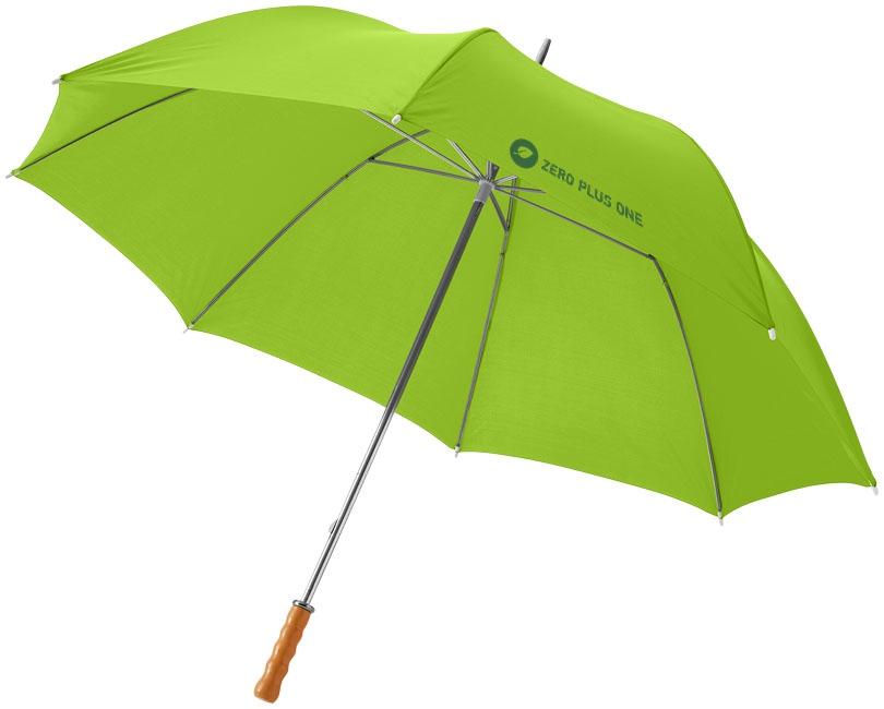 """Parapluie publicitaire golf 30"""" Karl - Parapluie personnalisable - citron vert"""