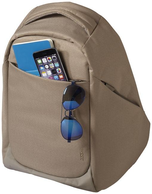 """Sac à dos pour ordinateur publicitaire 15"""" TSA Covert Security Zoom - sac à dos publicitaire"""