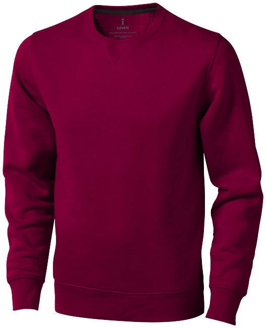 Sweater publicitaire ras du cou Surrey bordeaux