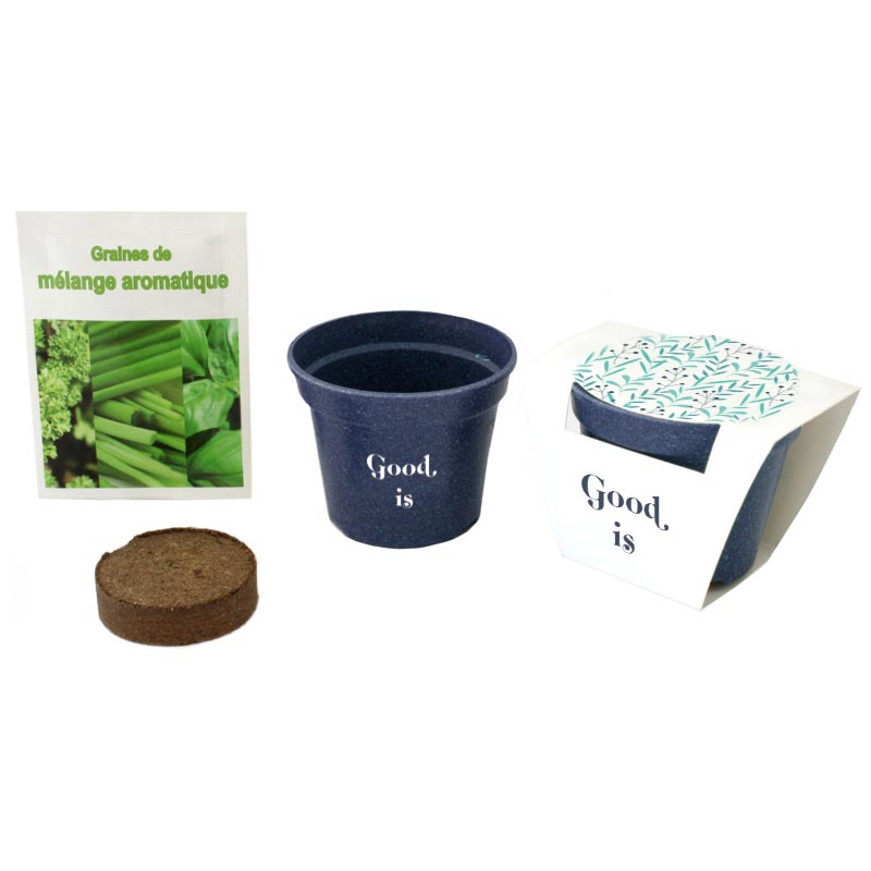 Kit Jardin Ecolo - kit de plantation personnalisable