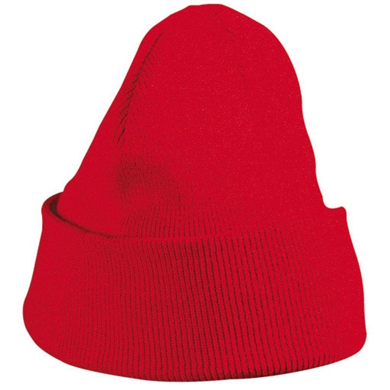 Cadeau publicitaire hiver - Bonnet publicitaire tricot à revers Snow